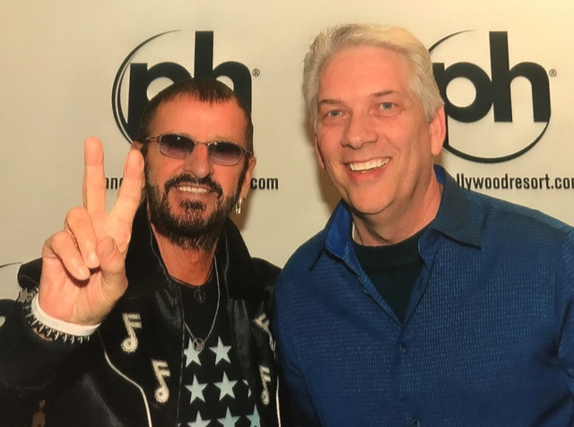 Kevin Guest with Ringo Star