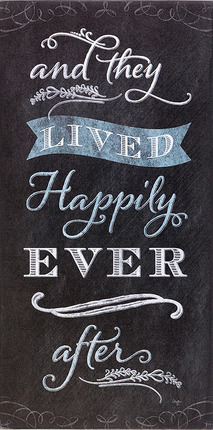 10 LDS Wedding Gifts That Won't Get Returned: And They Lived Happily Ever After Plaque