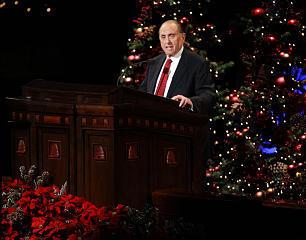 Lds Christmas Devotional.First Presidency Christmas Devotional President Monson A