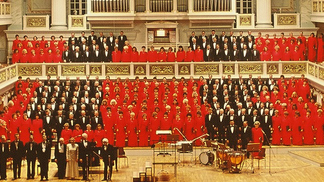 Mormon Tabernacle Choir Fashion, 1991