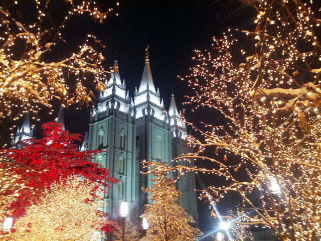 20 Things You Didn't Know about Temple Square at Christmastime ...