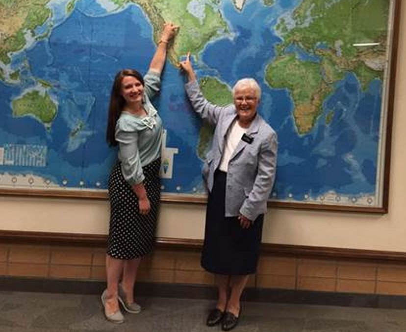 Grandmother and Granddaughter in MTC Together