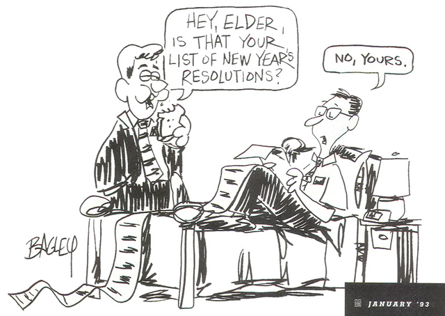 25 Comics from Beloved LDS Cartoonist Val Bagley