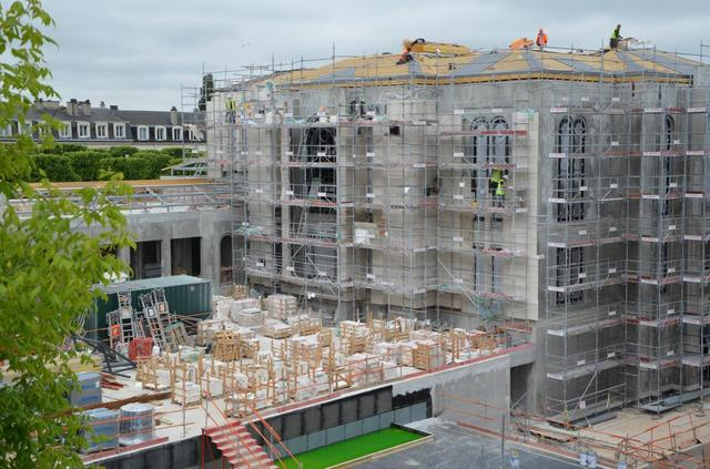 Photos: See the Paris Temple Being Constructed