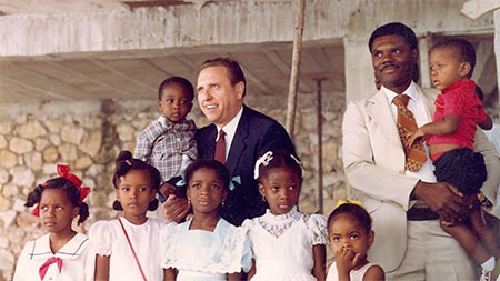 11 Unforgettable Pictures of Apostles with Children