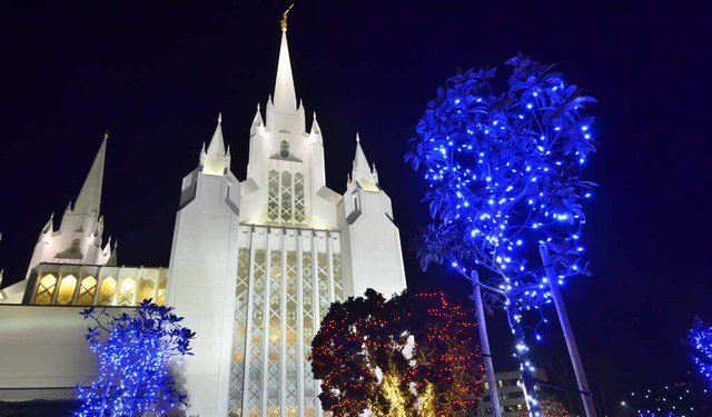 mormons launch the best christmas lights in san diego photos - Best Christmas Lights In San Diego