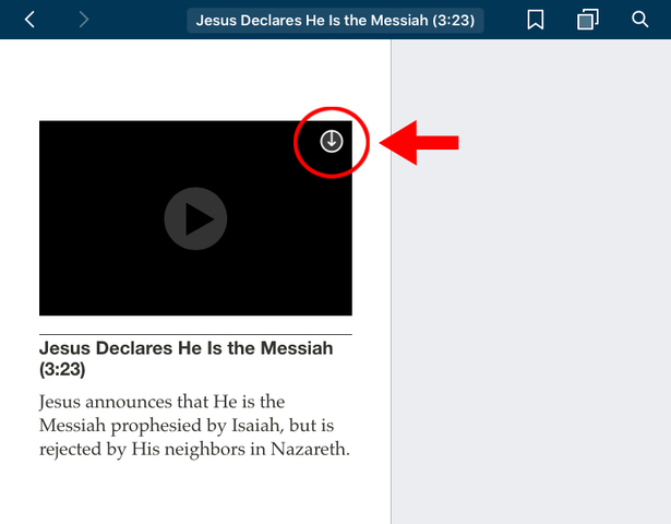 How to Download LDS Videos to an iPad Step 4