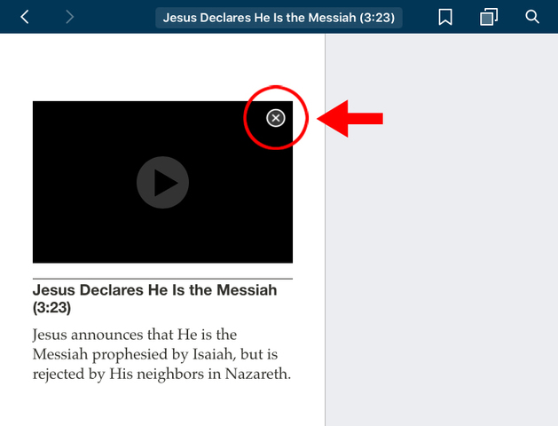 How to Download LDS Videos to an iPad Step 5