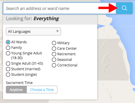 How To Find My LDS Ward Step 4
