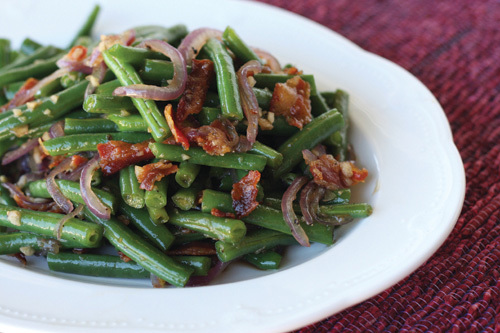 Thanksgiving Recipes: Caramelized Green Beans