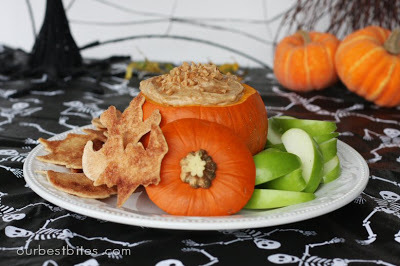 Thanksgiving Recipes: Caramel Toffee Fruit Dip