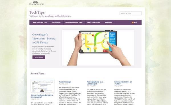 New website brings together genealogy and technology   LDS