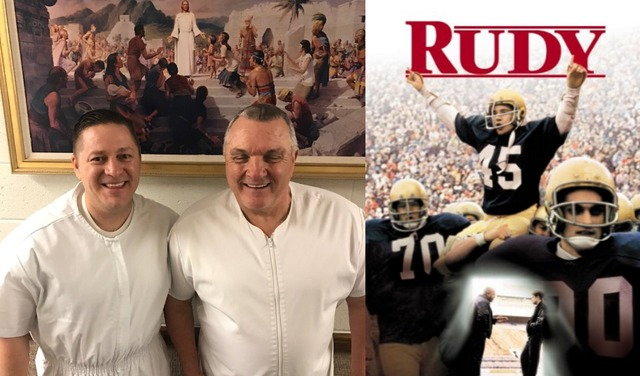 Rudy Ruettiger from Classic Hollywood Film
