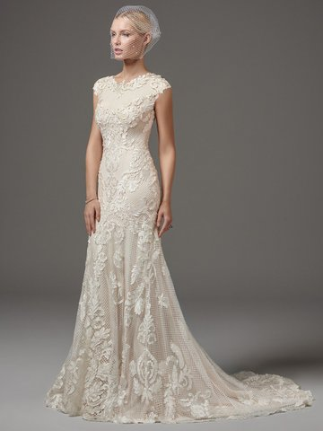 20 Gorgeous Modest Wedding Dresses LDS Living - Lds Wedding Dress