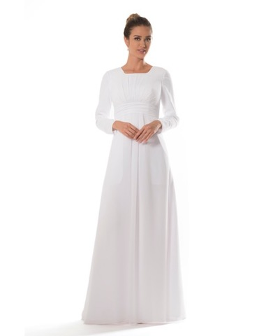 Beautiful Temple Dresses Any LDS Woman Would Love