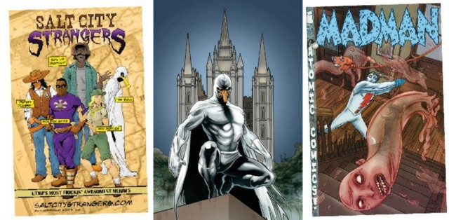 Mormons in Comic Books