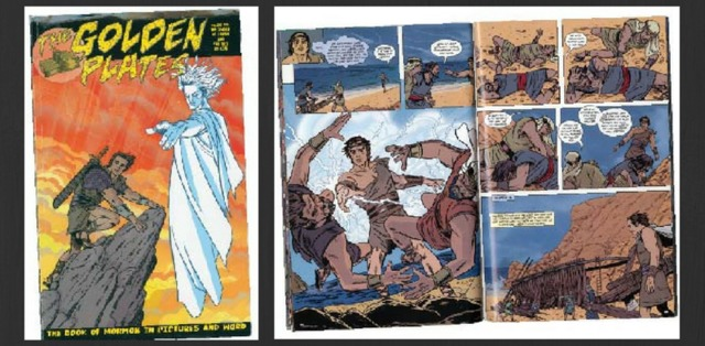 How A Book Of Mormon Story Ended Up In DC Comic Other Ways Mormons Share Their Faith Comics