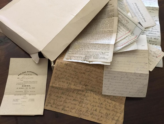Rob J. Thurston presents on Historical Documents Found in Grandmother's Basement