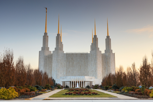 Mormon Temple; Mormon art