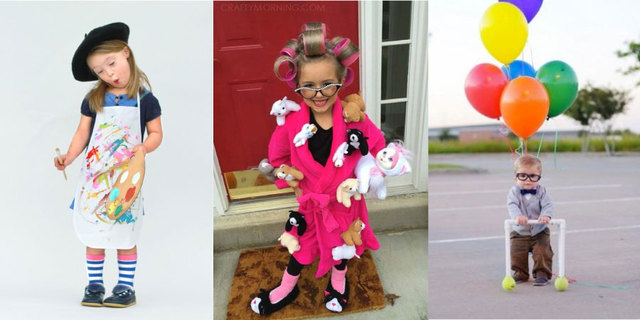 35 cute and easy kids halloween costume ideas