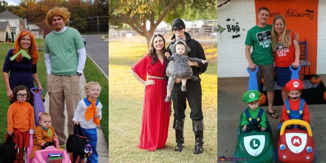 35 cute and clever family halloween costume ideas