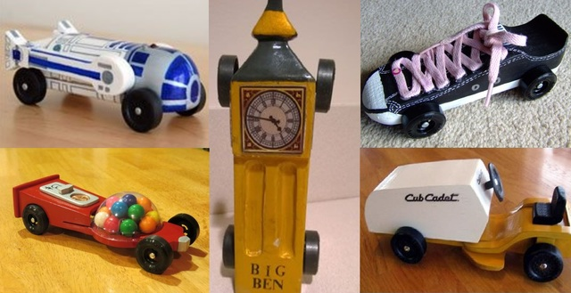 pinewood derby cars ideas