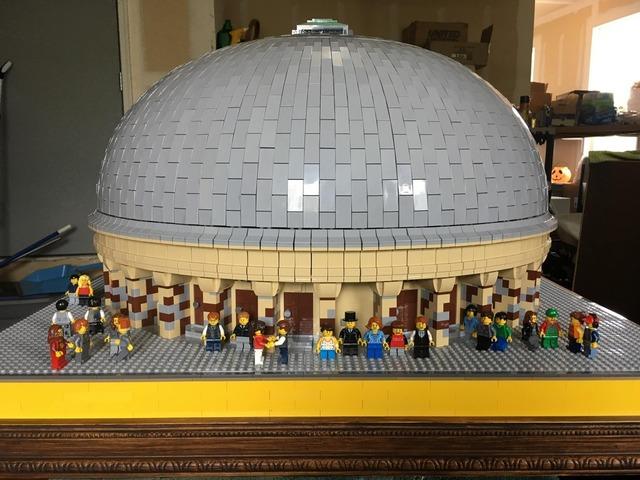 Mormon Lego Enthusiast Takes On 10 Year Temple Square