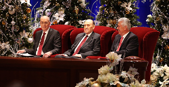 first presidency invites members to watch the 2017 christmas devotional - Christmas Devotional Stories