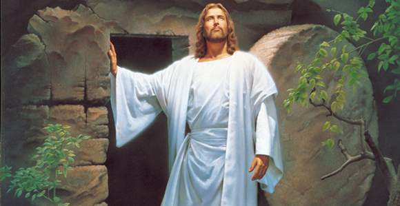 Image result for he is risen easter savior lds