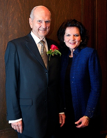 President Nelson and his wife, Wendy Watson Nelson