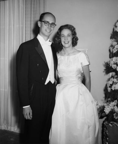President Eyring and his wife, Kathy, at their wedding