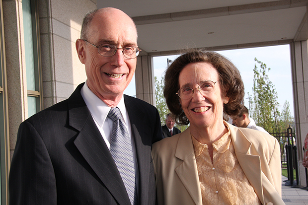President Eyring and his wife, Kathy