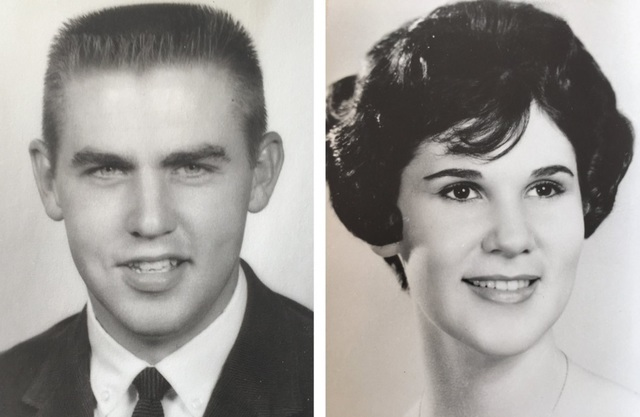 Jeffrey and Patricia Holland as young college students