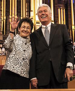 Elder and Sister Uchtdorf