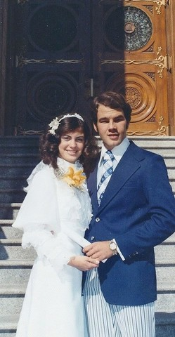Elder and Sister Renlund at their wedding
