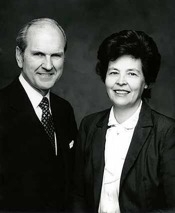 President Nelson and his wife, Danztel White
