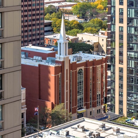 Chicago's New LDS Meeting House