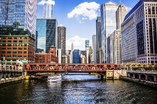 View from the Chicago River