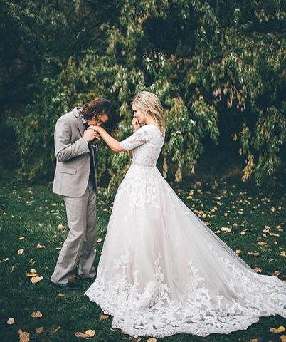 Gorgeous Modest Wedding Dresses