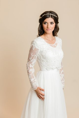 30 Gorgeous Modest Wedding Dresses Lds Living