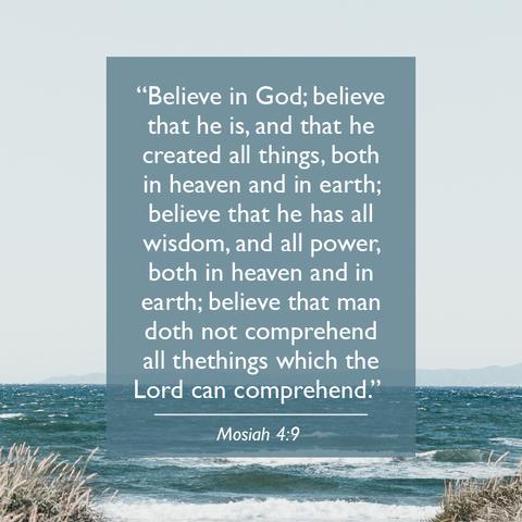 Scriptures Worth Memorizing