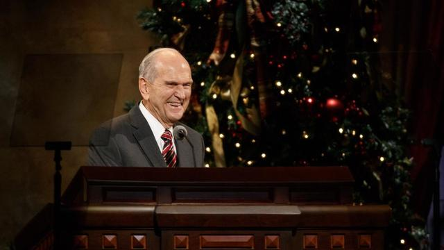 A Short Christmas Story from President Nelson That Will Warm Your ...