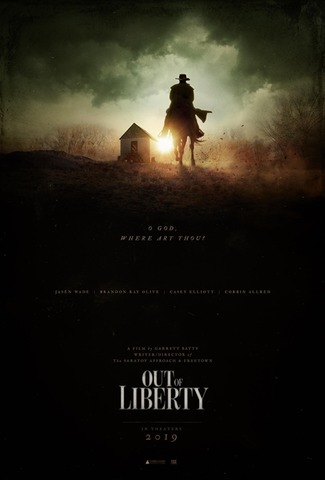 """""""Out of Liberty"""" movie poster, a film by Garrett Batty"""