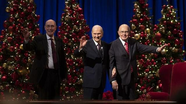 Church Of Jesus Christ Of Latter-Day Saints 2020 Christmas Devotional What we know about the 2020 First Presidency Christmas Devotional