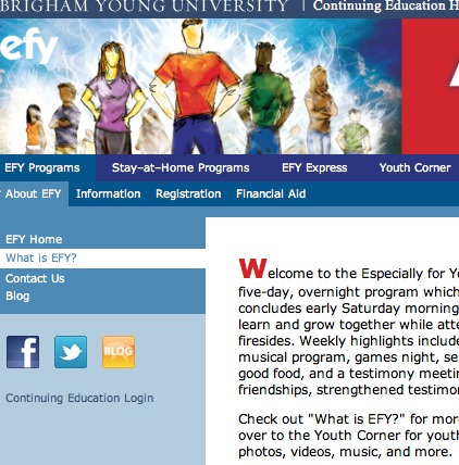 CDs out, download cards in, for LDS Church's EFY program | LDS Living