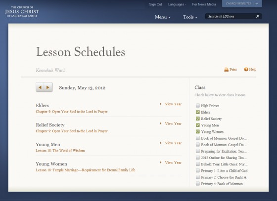 Lds Primary Lesson Schedule 2019 Lesson Schedules Now Available on LDS.| LDS Living