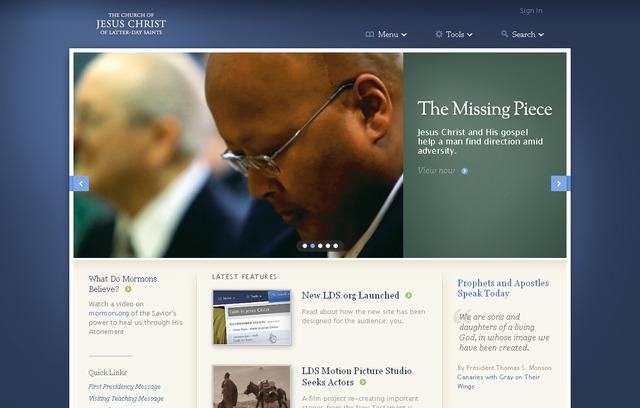 LDS Church Launches New LDS org | LDS Living