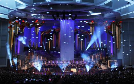 Lds Christmas Concert.Concert Review Mormon Tabernacle Choir S Christmas Concert