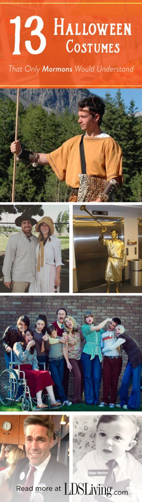 follow lds living on pinterest - Mormon Halloween Costumes