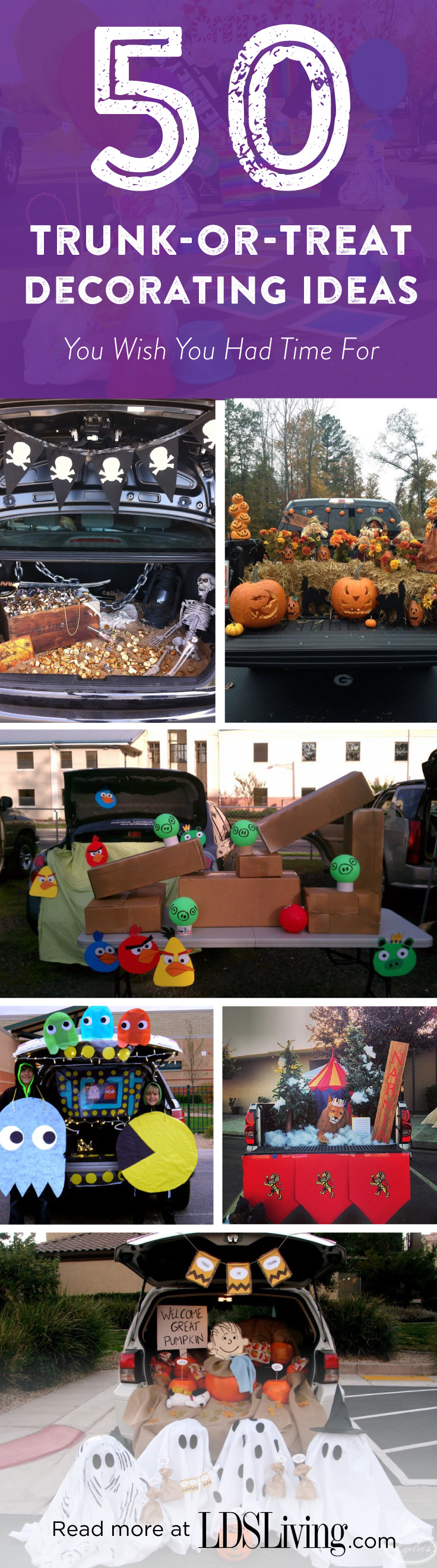 50 Trunk Or Treat Decorating Ideas You Wish You Had Time For Lds Living